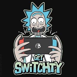 Camiseta Rick Get Switchty - Masculina