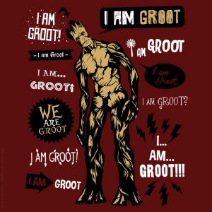 Camiseta I am Groot - Masculina