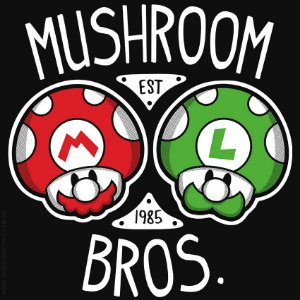 Camiseta Mushroon Bros - Masculina