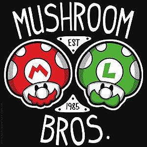 Camiseta Mushroon Bros - Masculina