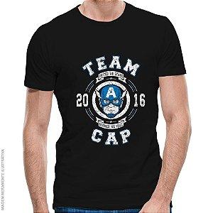 Camiseta Team Cap - Masculina