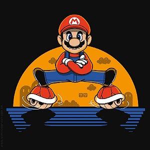 Camiseta Mario Plumber Split - Masculina