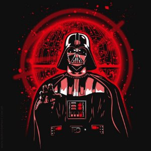 Camiseta Darth Protect the Plans - Masculina