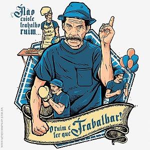 Camiseta Seu Madruga Trabalhador - Masculina