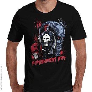 Camiseta Punishment Day - Masculina