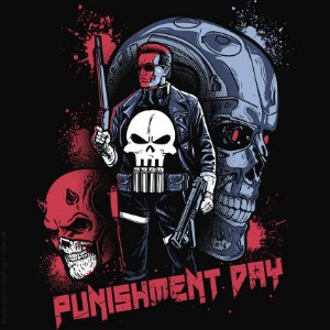 Camiseta Punishment Day - Masculina