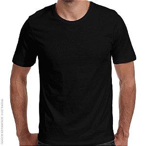 Camiseta Básica Preta Premium - Masculina