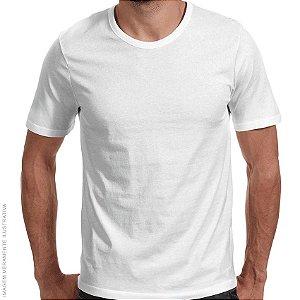 Camiseta Básica Branca Premium - Masculina
