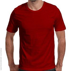 Camiseta Básica Vermelha Premium - Masculina