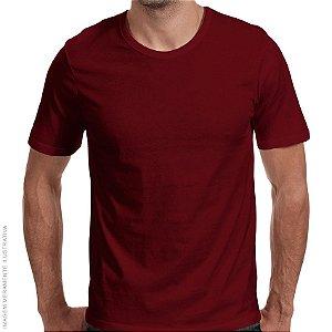 Camiseta Básica Vinho Premium - Masculina