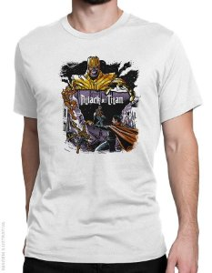 Camiseta Attack on Titan - Masculina