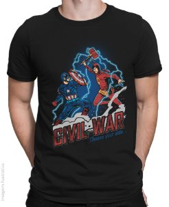 Camiseta Civil War