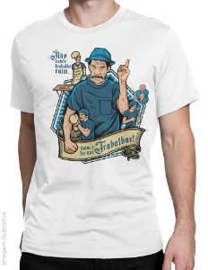 Camiseta Seu Madruga Trabalhador