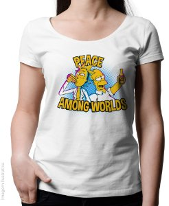 Blusinha Peace Among Worlds