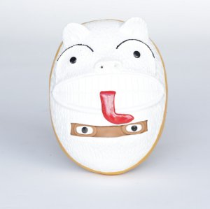Mascara da la ursa branca