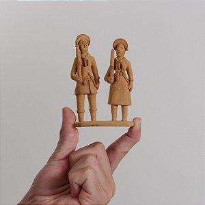"Miniatura ""Lampião e Maria Bonita 03"""