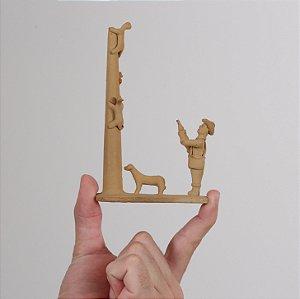 """Miniatura """"Caçador de gato maracajá"""""""
