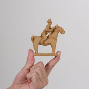 """Miniatura """"Lampião a Cavalo 02"""""""