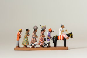 "Miniatura ""Família de Retirantes 1"""