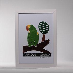 "Quadro ""Papagaio"""