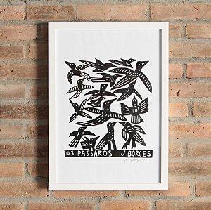 """Quadro """"Os Pássaros"""""""