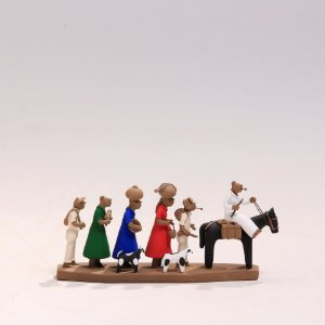 "Miniatura ""Família de Retirantes 2"""