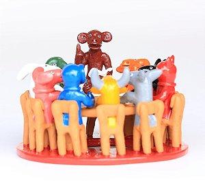 Escola de Animais Colorida