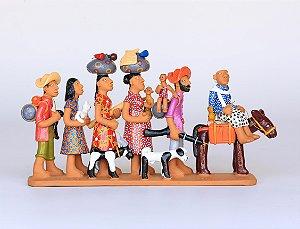 Família de Retirantes Colorido