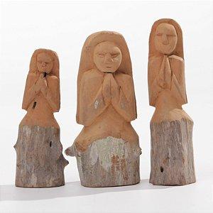 Trio de Beatas Saia Rustica