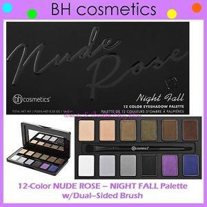 Paleta Nude Rose  Night Bh Cosmetics