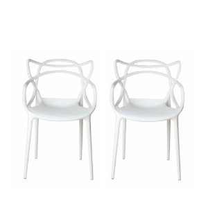 Cadeira Eames Urbana Branca (4 unidades)