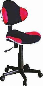 Cadeira Anatômica G2b Preta/vermelha