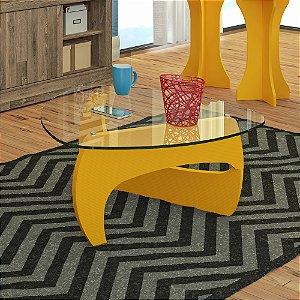 Mesa de Centro Cult Amarelo