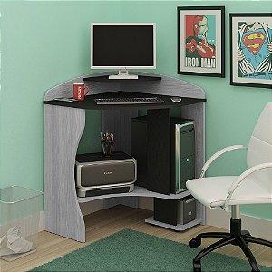 Mesa Para Computador Java Cinza/preto