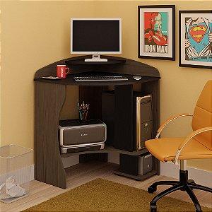 Mesa Para Computador Java Imbuia/preto