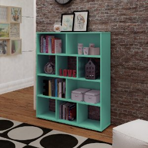 Rack Book Turquesa