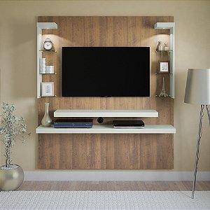 Painel para TV até 47 Polegadas com LED Atlantis Artely Pinho/Off White
