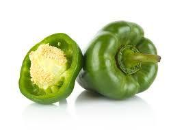 Pimentão verde (500g / aprox. 3 unidades)