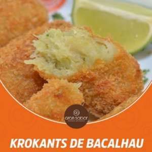 GRAN SABOR - Krokants de bacalhau 6 unidades  (240g)