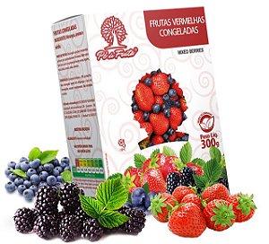 PÉ DE FRUTA - Frutas vermelhas congeladas (300g)