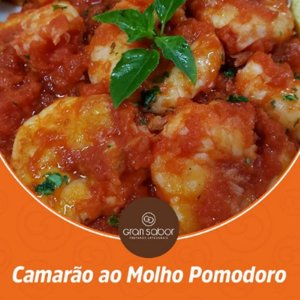 GRAN SABOR - Camarão ao molho pomodoro (350g)