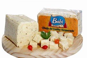 BABI - Queijo de coalho temperado (aprox. 500g)