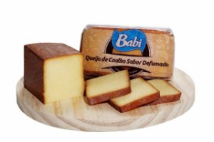BABI - Queijo de coalho sabor defumado  (aprox. 500g)