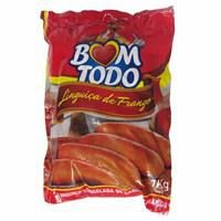 [FRANGO BOM TODO] Linguiça de frango (pacote 1kg)