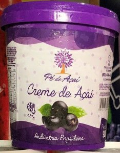 PÉ DE FRUTA - Creme de Açaí (900g)