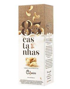 Leite CAJUEIRO 85 Castanhas (1 litro de bebida cremosa 100% natural)