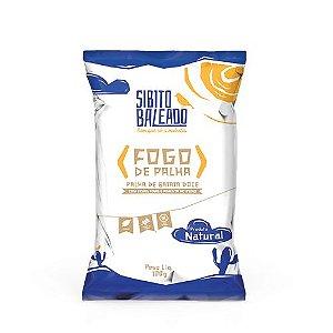 [SIBITO BALEADO] FOGO DE PALHA (mix palha de batata doce e macaxeira) sabor alho e ervas (100g)
