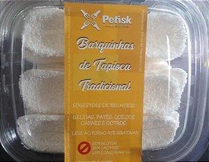 [PETISK] Barquinha de tapioca tradicionais (18 unidades)