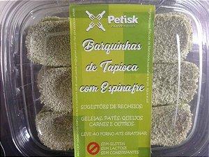 [PETISK] Barquinha de tapioca com espinafre (18 unidades)