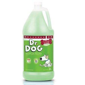 Eliminador de maus odores e higienizador pet concentrado Dr. Dog Verbena 2L